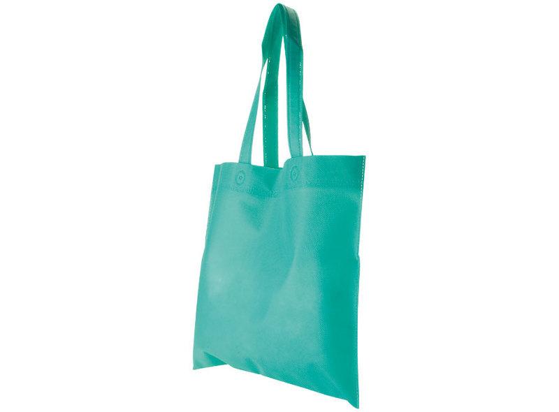 BAG IN TNT GREEN 34X44 cm