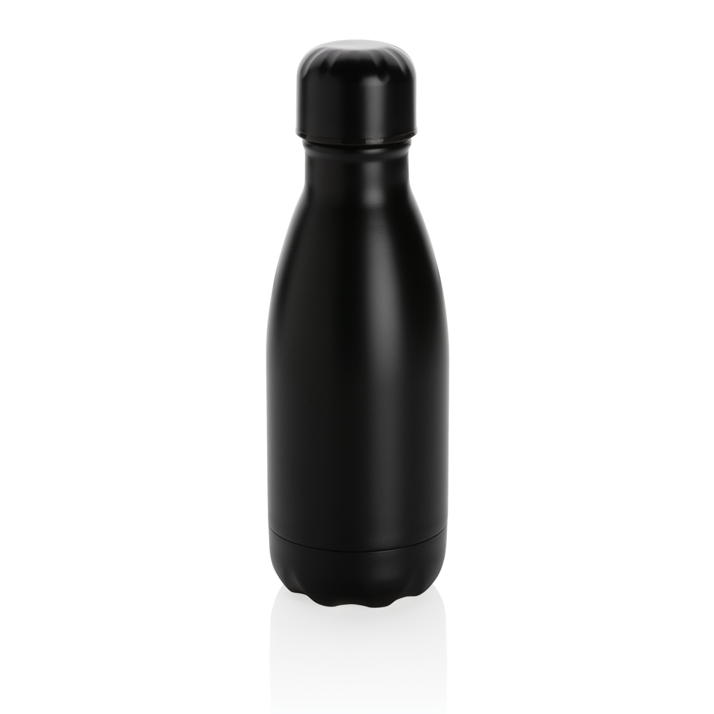 Solid colour vacuum stainless steel bottle 260ml
