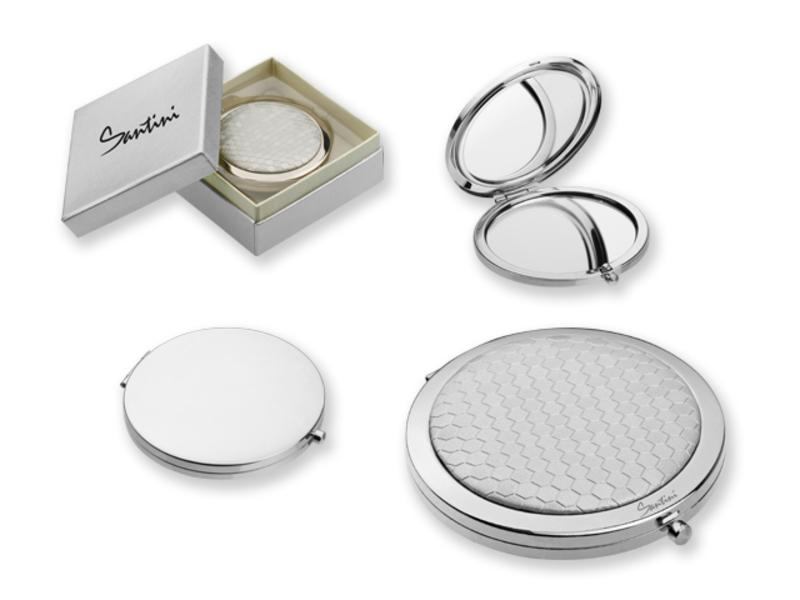 MARGARET pocket mirror, Silver