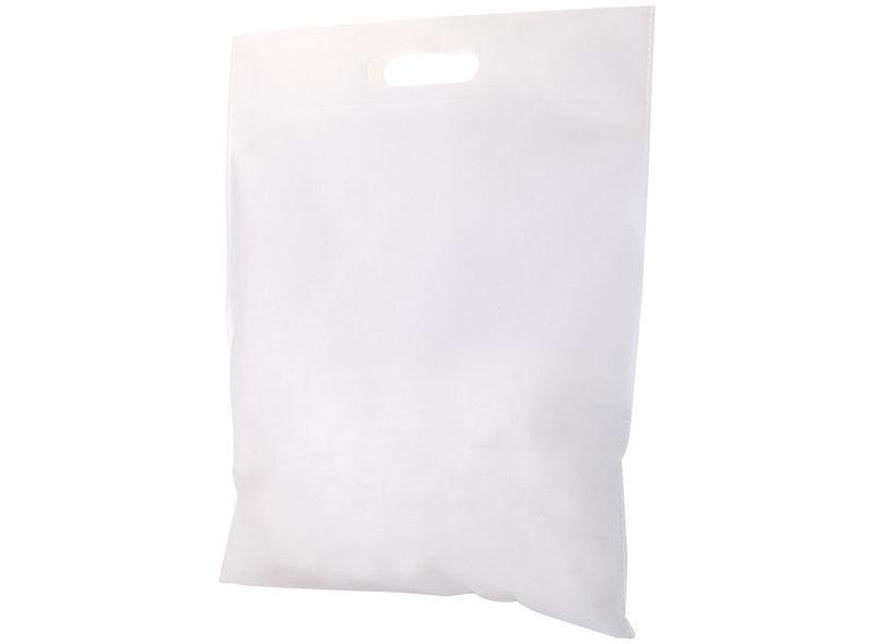 BAG IN TNT WHITE 38X35 cm
