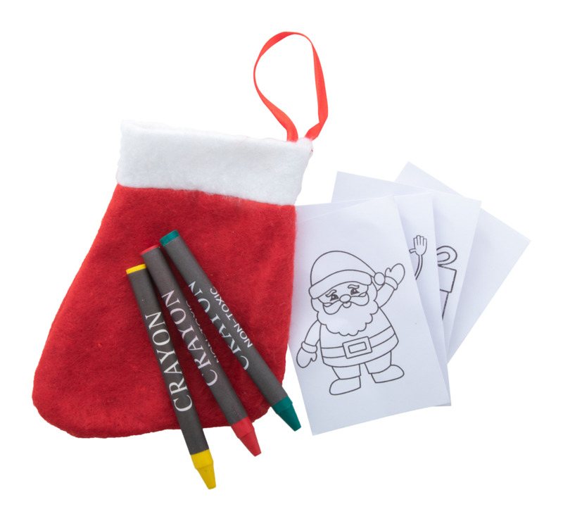 Princox Christmas colouring set