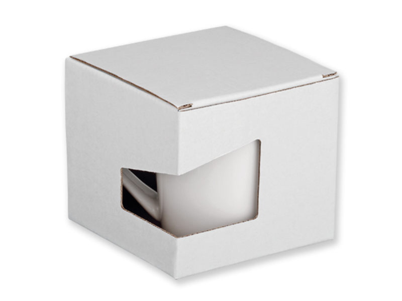GB WRING paper gift box, White