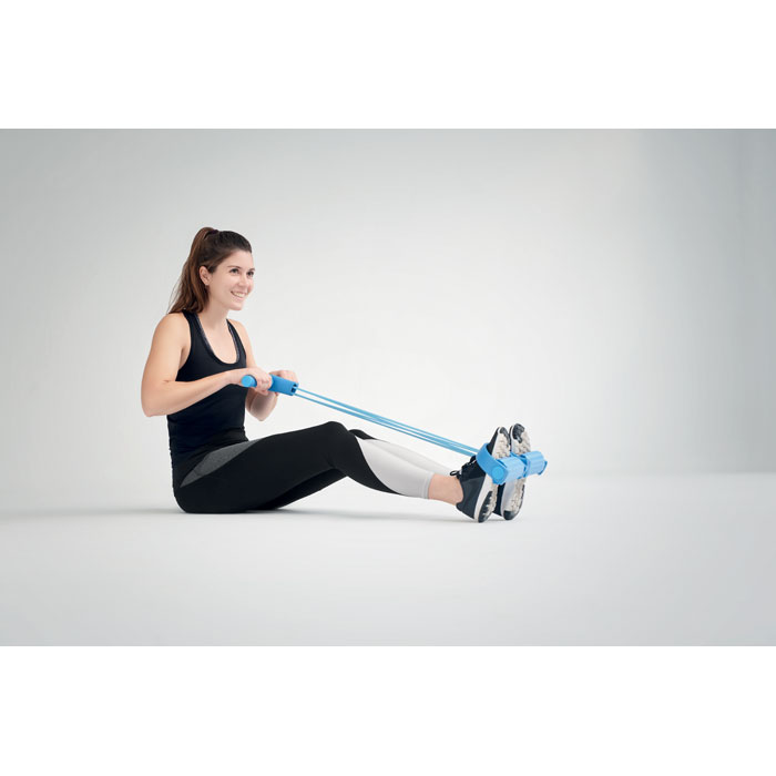 Pedal exercise puller rope