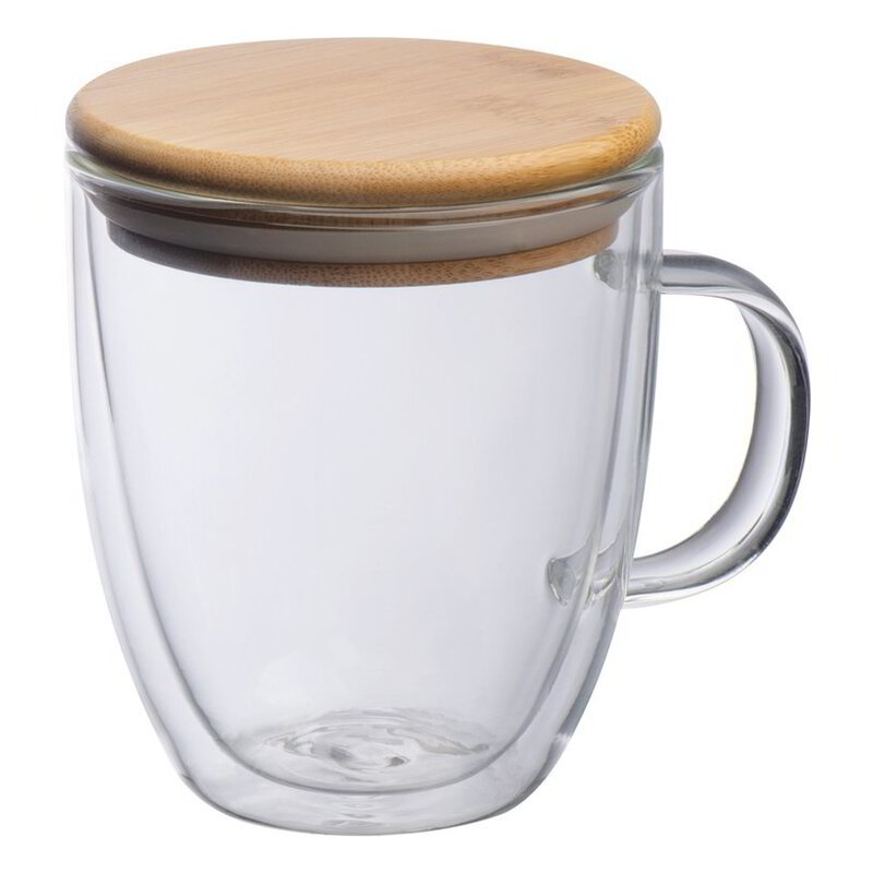 Double-walled glass cup Gerthe
