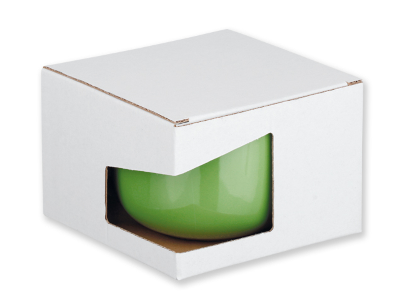 GB CHUBBY paper gift box, White