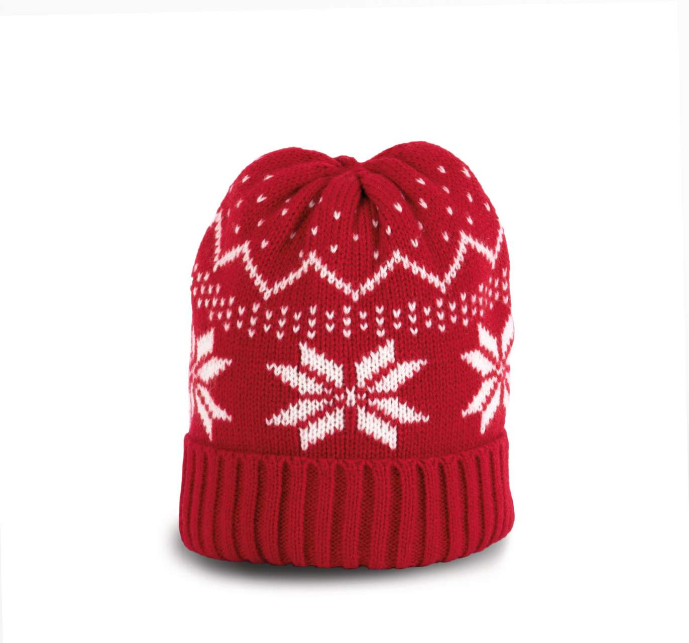 BEANIE WITH CHRISTMAS DESIGN