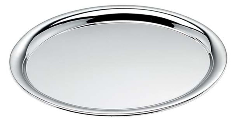 TRAY OVAL CHROMED - 230x320 mm