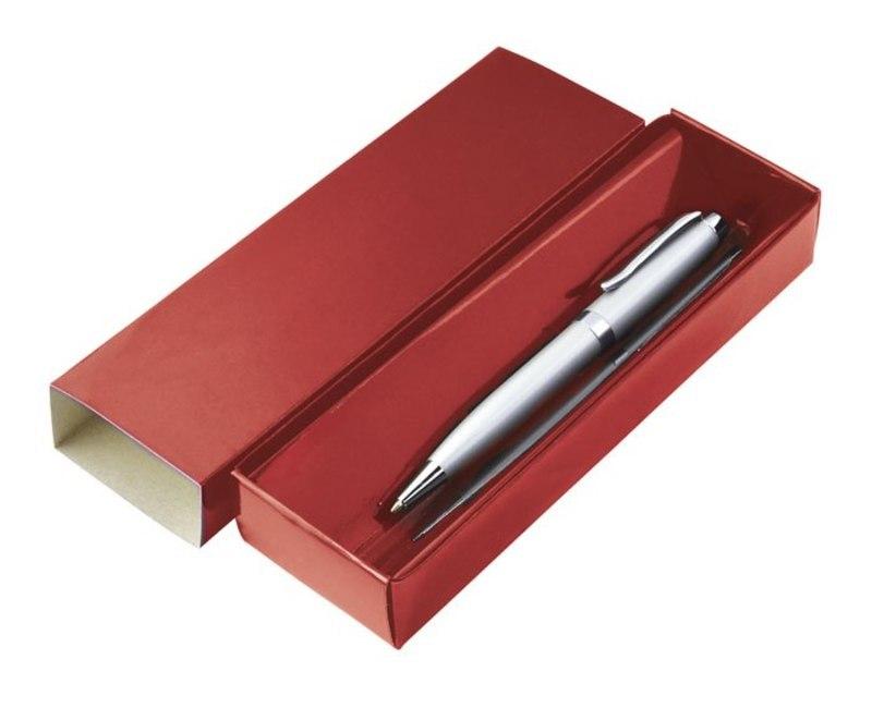 CARDBOARD BOX RED 18X5.5X3CM -NO PEN