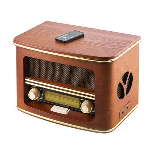 Radio with bluetooth, CD/MP3 player