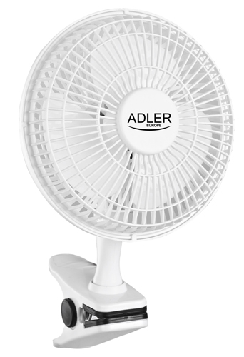 Fan 15 cm with clip and base