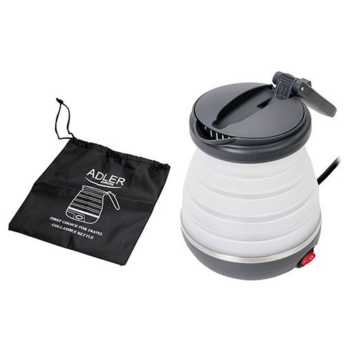 Kettle plastic 0,6 L - silicon travel