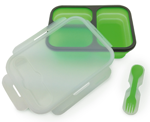 Lunchbox silicone container 3-compartment