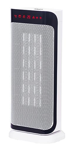 Ceramic fan heater LCD + Remote control + Timer