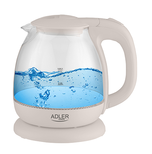 Kettle glass electric 1,0L