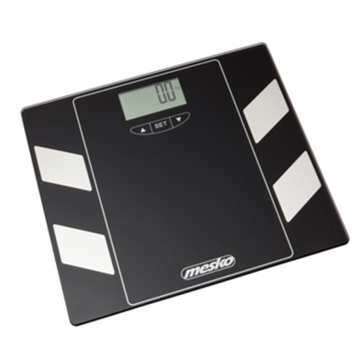 Bathroom scale with analyzer