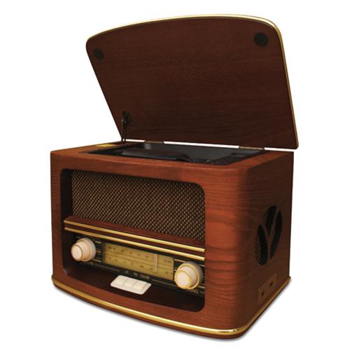 Radio with CD/MP3 player - british plug
