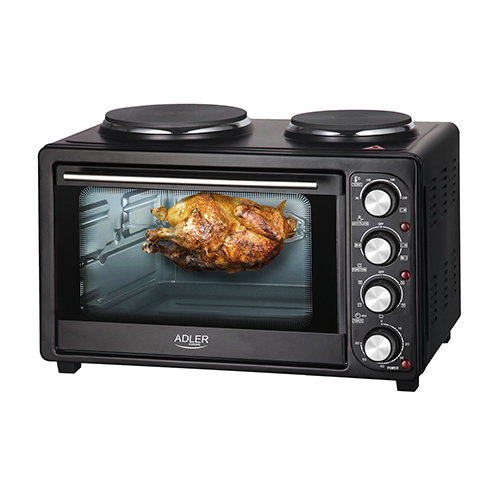 Electric oven  with heating plates.