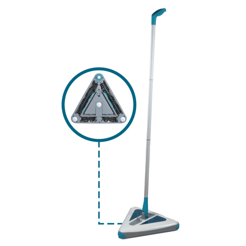Swivel sweeper triangular 1