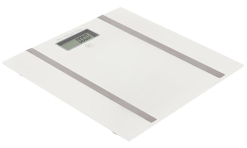 Bathroom scale with analyzer