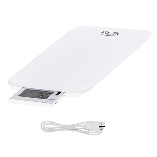 Kitchen scale - 10kg - USB charged