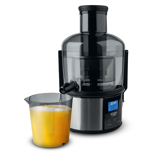 Juice extractor with LCD display