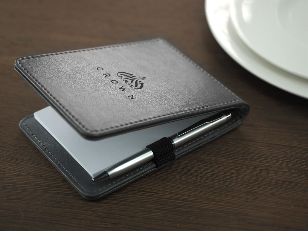 Waiter notepad