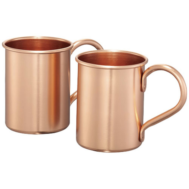 Moscow mule 415 ml mugs gift set