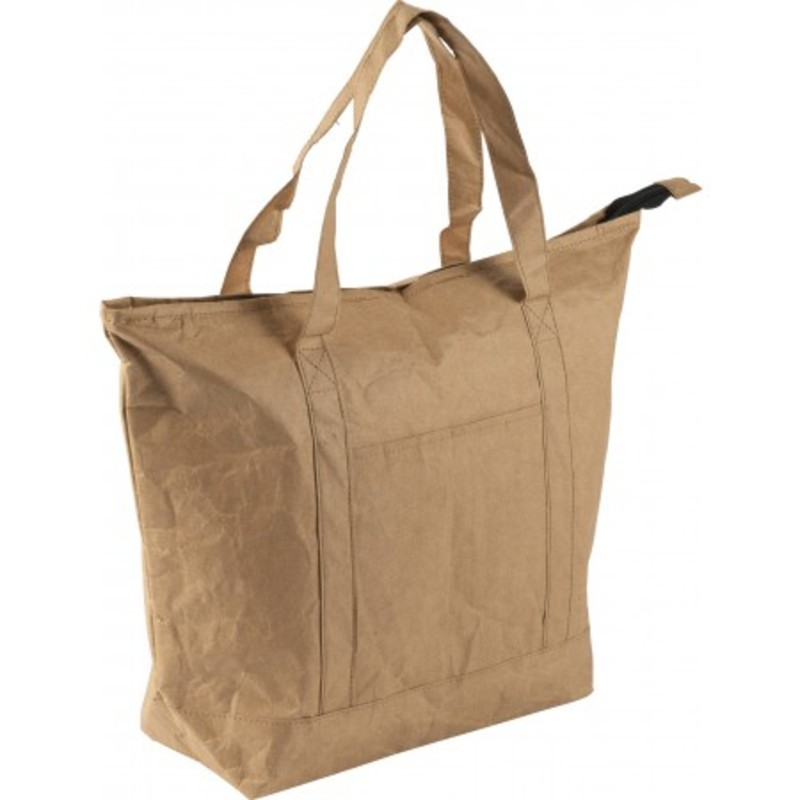 Laminated paper cooling shopping bag