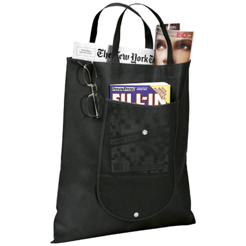 Maple non-woven foldable tote bag