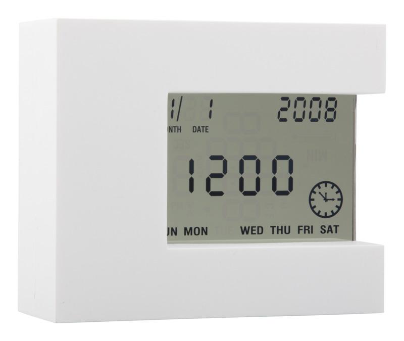 Nester multifunctional table clock