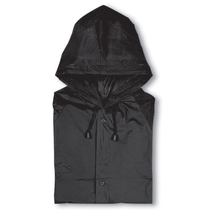 PVC raincoat with hood