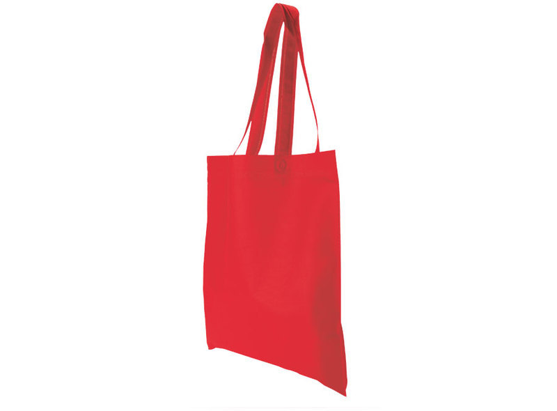 BAG IN TNT RED 34X44 cm