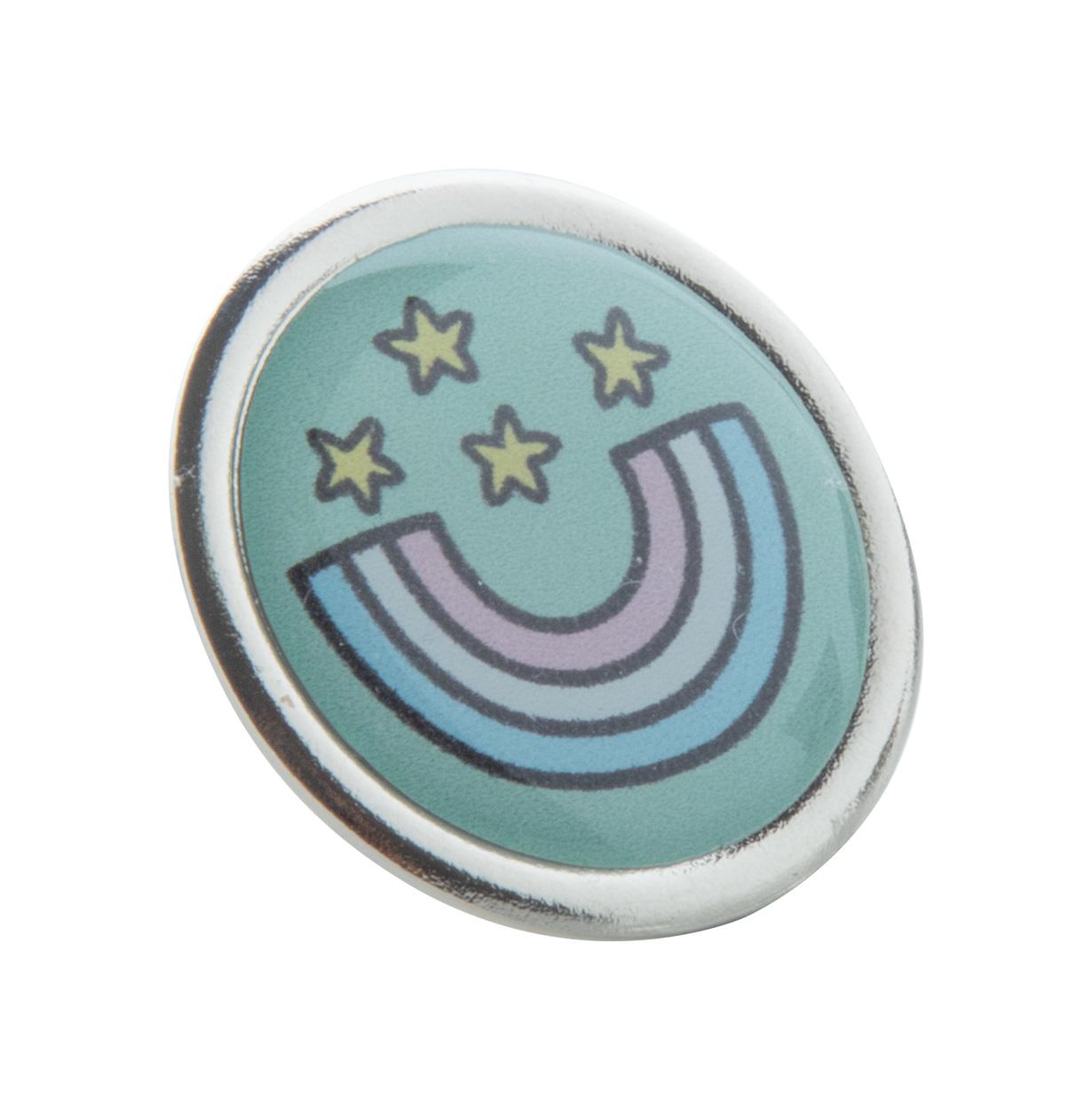 Read metal badge