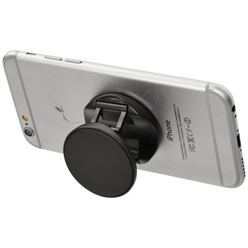 Brace phone stand with grip