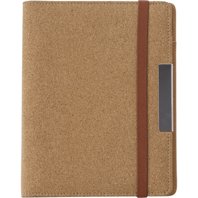 Cork conference folder A5 with notebook
