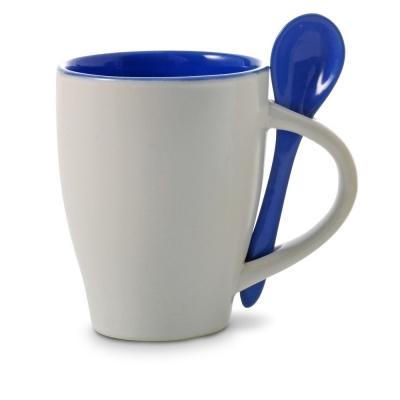 Mug 300 ml with spoon