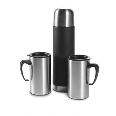 Vacuum flask 500 ml with 2 mugs 260 ml