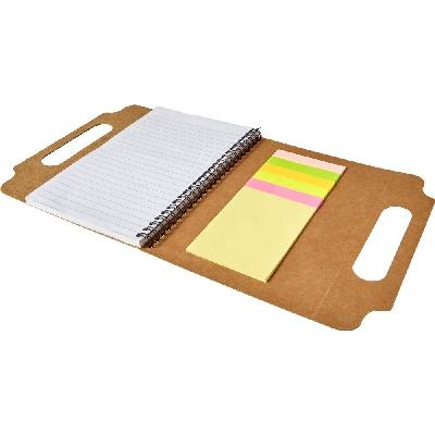 Memo holder, notebook A5, sticky notes