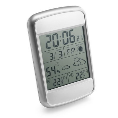 Weather station with outside sensor