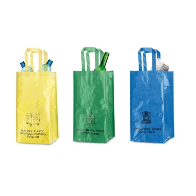 Recycle waste bags