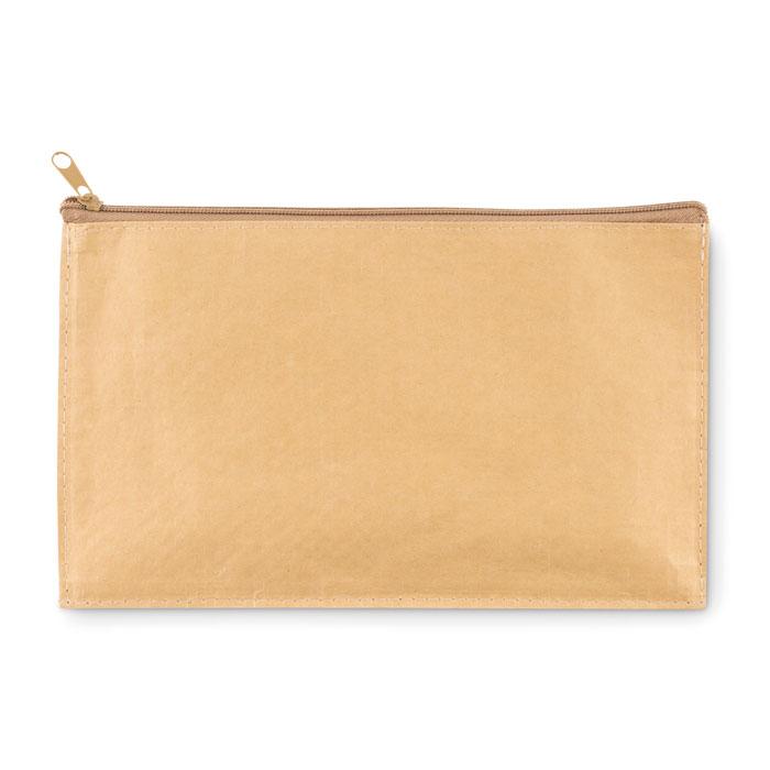 Woven paper pencil case