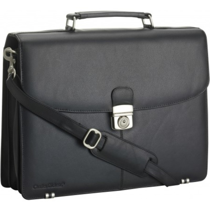 Charles Dickens? leather briefcase
