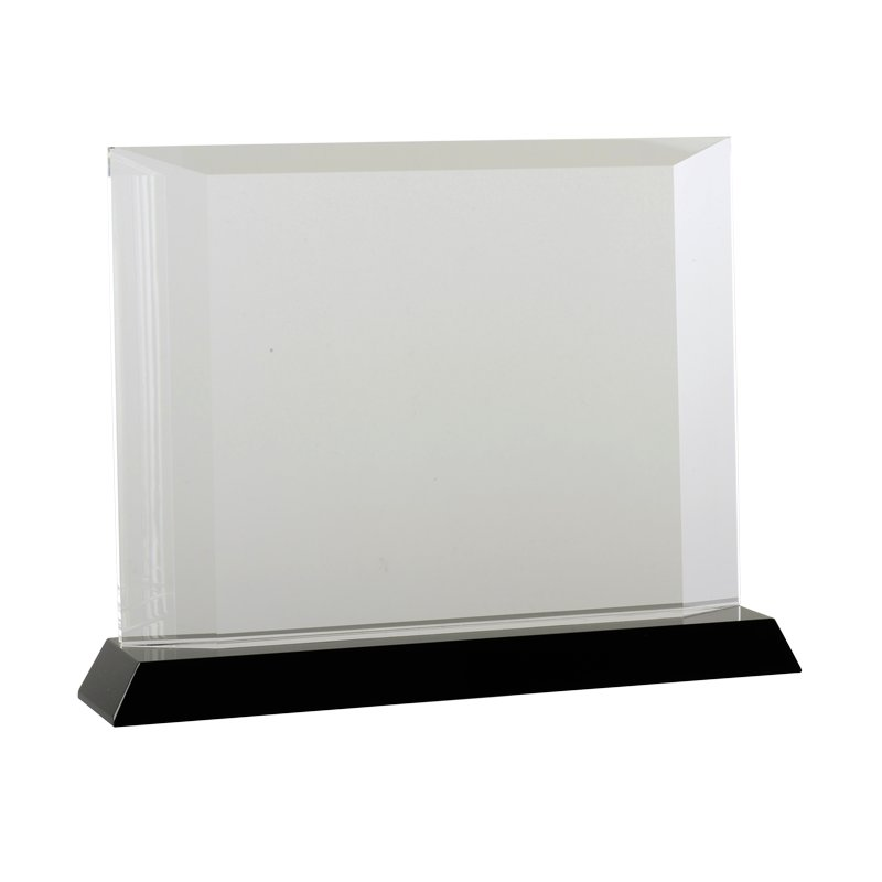 ELEGANCE trophy,  transparent/black