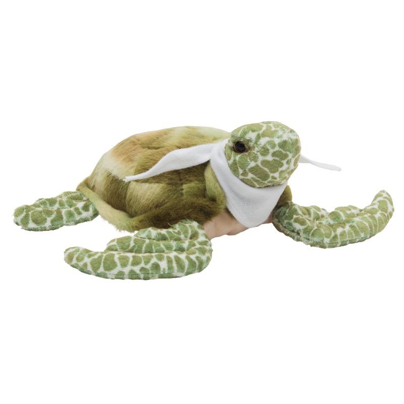 TURTLE plush toy,  green