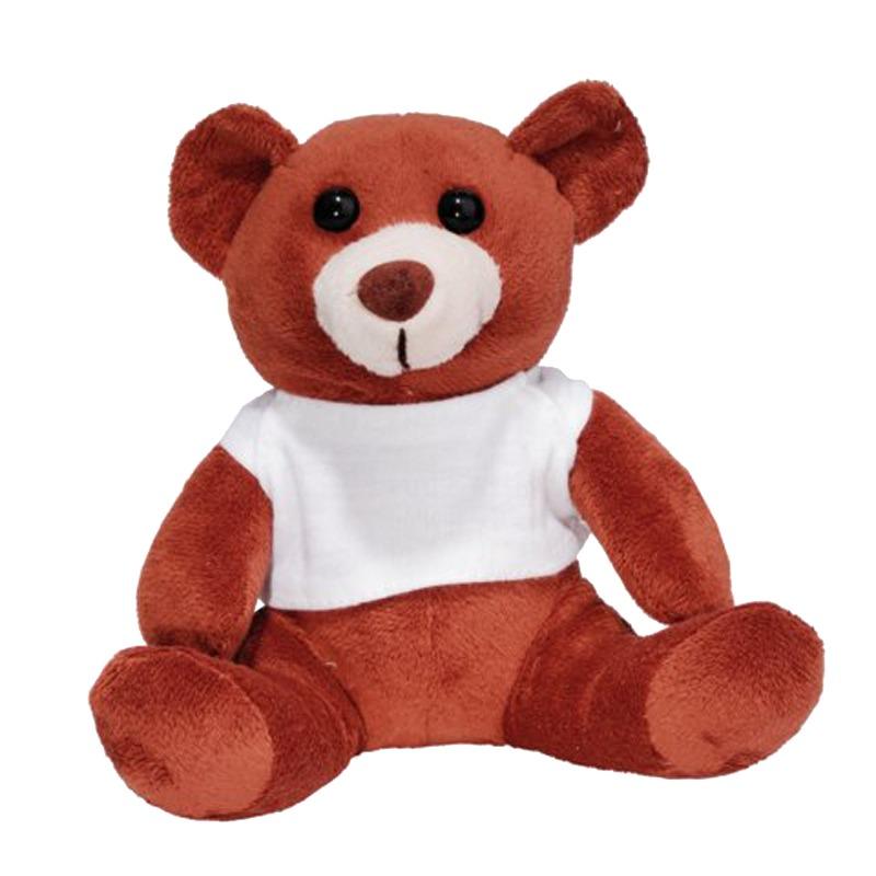 FUNNY BEAR plush toy,  brown
