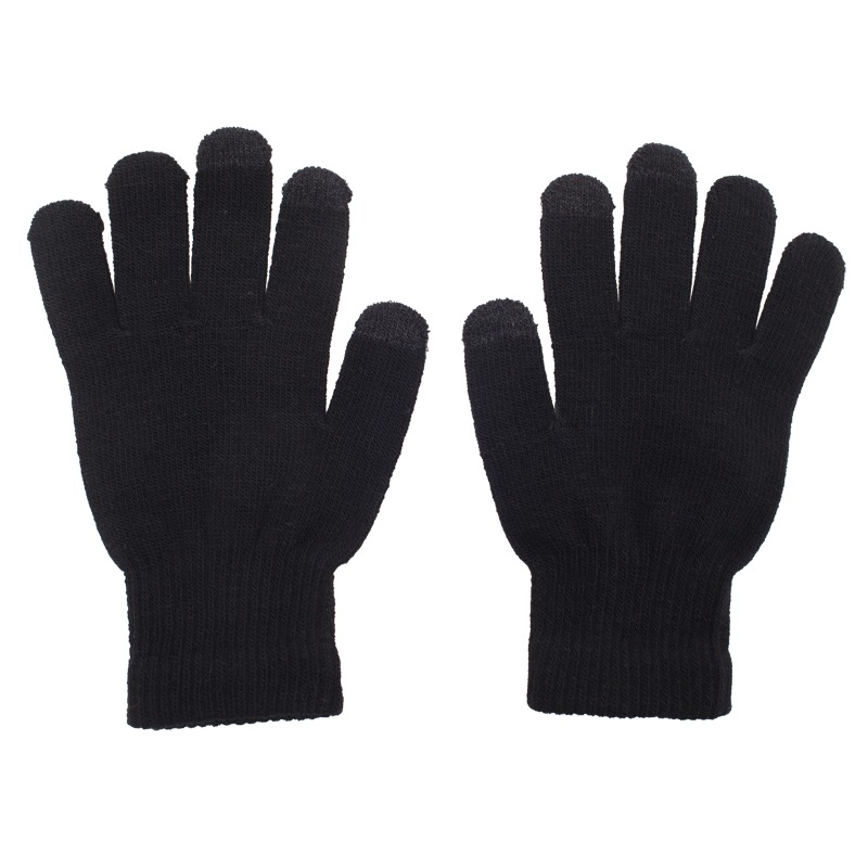 TOUCH CONTROL gloves for touch screen,  black