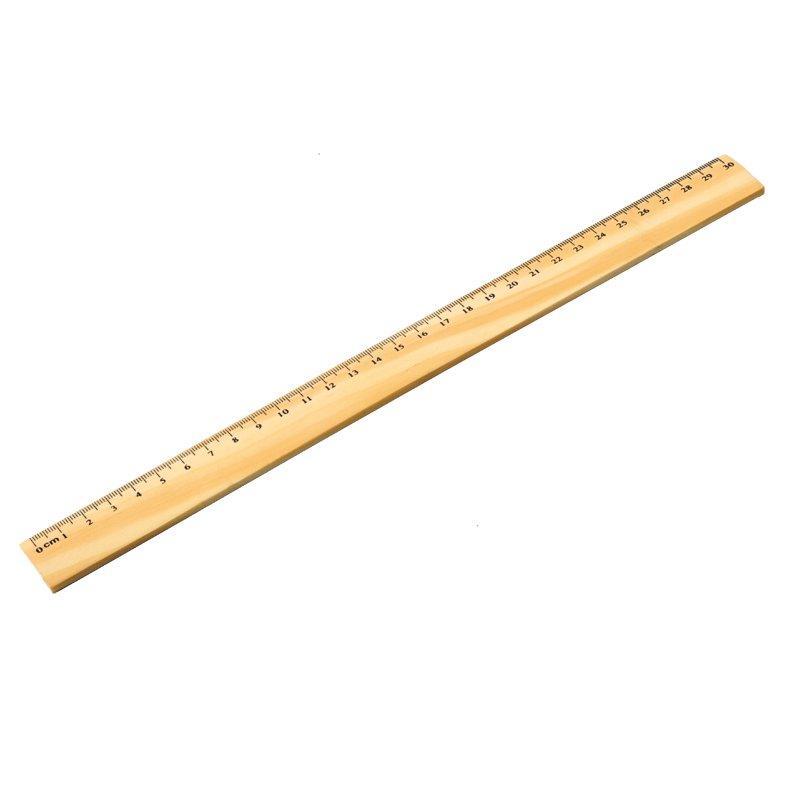 RULER ruler,  brown