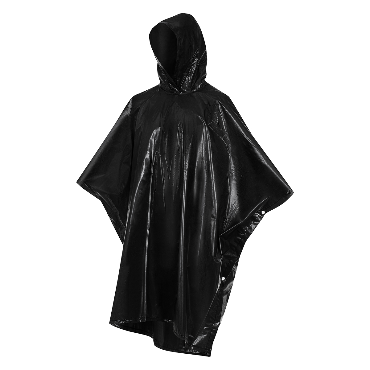 RAINFREE adult raincoat in the cover,  black