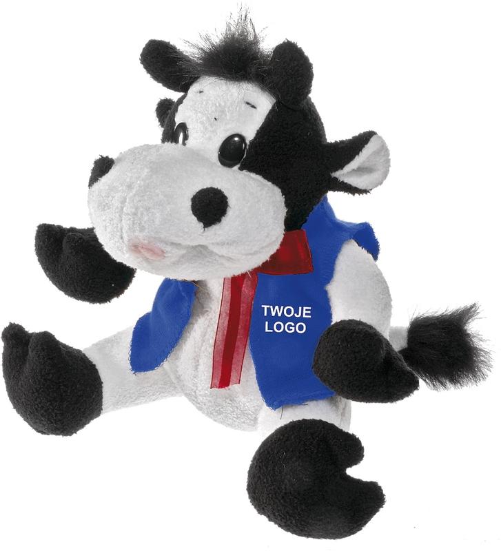 COW plush toy,  white