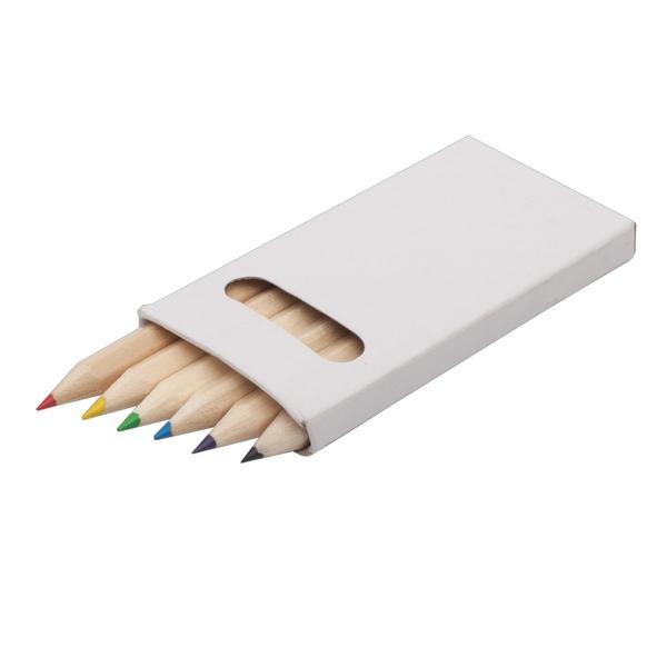 CRAYON SMALL set of crayons,  white